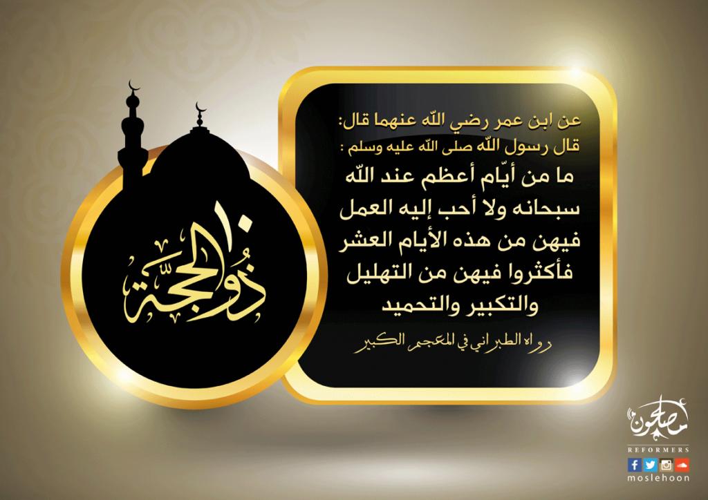08764 حديث العمل الصالح في عشر ذي الحجة مكرر
