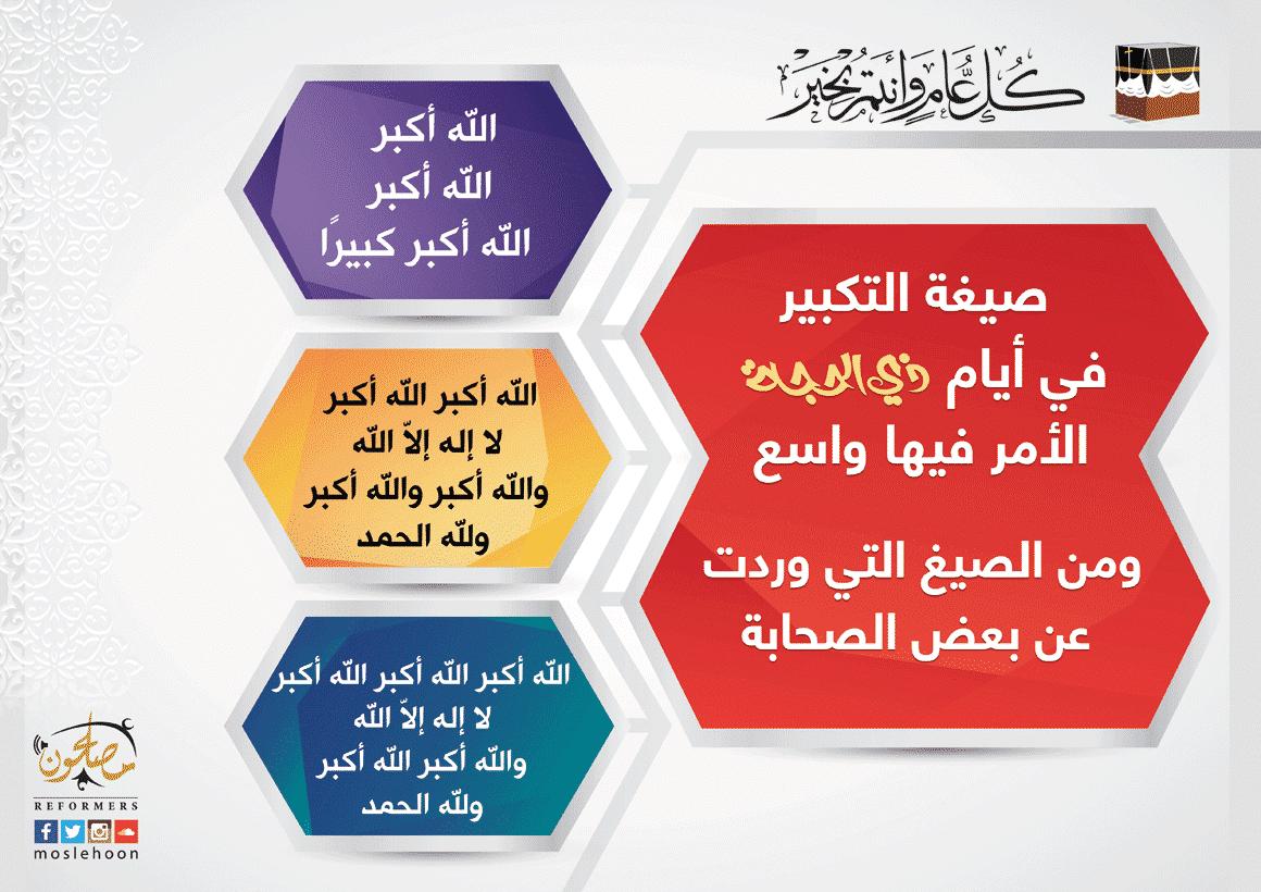 ما هي صيغة التكبير في العيد وعشر ذي الحجة؟